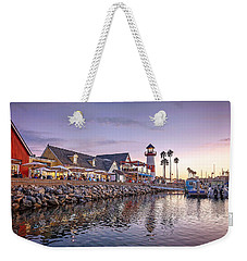 Oceanside Harbor Weekender Tote Bag