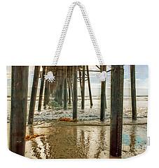 Oceanside - Low Tide Under The Pier Weekender Tote Bag