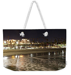 Oceanside Night Weekender Tote Bag