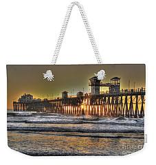 Oceanside Pier Hdr  Weekender Tote Bag