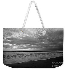 Weekender Tote Bag featuring the photograph Oceanside Surf by John F Tsumas