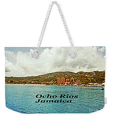 Weekender Tote Bag featuring the photograph Ocho Rios Jamaica by Gary Wonning