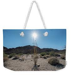Ocotillo Glow Weekender Tote Bag