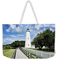 Ocracoke Light Weekender Tote Bag