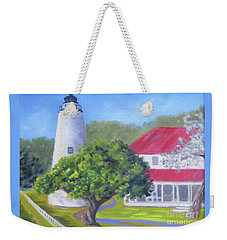 Ocracoke Lighthouse Weekender Tote Bag
