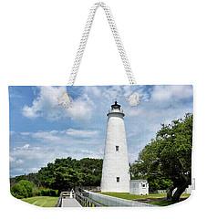 Ocracoke Lighthouse - Outer Banks Weekender Tote Bag