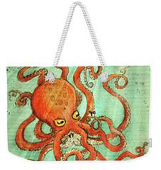 Octo Tako With Surprise Weekender Tote Bag