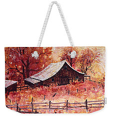 October Barn Weekender Tote Bag