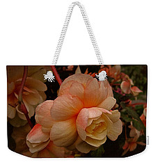 Vintage Begonia No. 2 Weekender Tote Bag by Richard Cummings