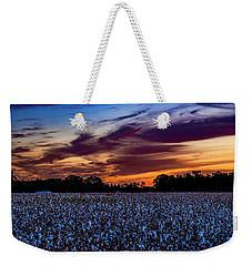 October Cotton Weekender Tote Bag