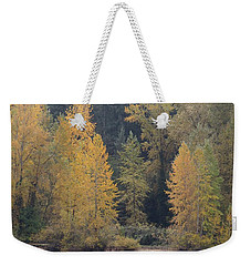 Weekender Tote Bag featuring the photograph October Fiesta by I\'ina Van Lawick