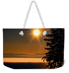 October Fog Weekender Tote Bag by Elaine Hunter