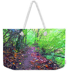 October Forest Pathway Weekender Tote Bag