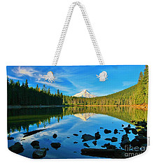 October On The Lake Weekender Tote Bag