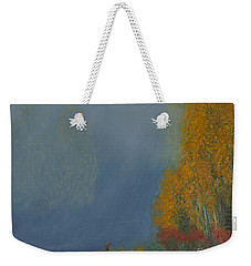 October On The River Weekender Tote Bag by Stanza Widen