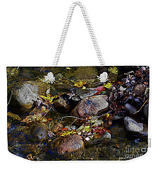 October Puddles Weekender Tote Bag