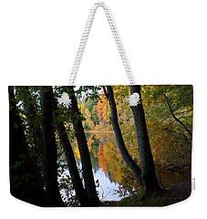 October Reflection Weekender Tote Bag