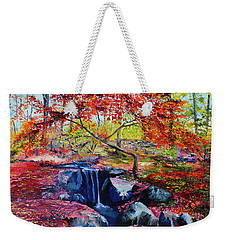 October Riot Weekender Tote Bag