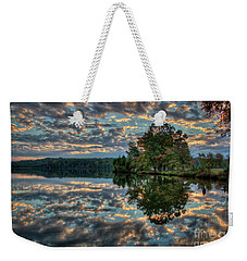 October Skies Weekender Tote Bag