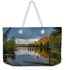 October Storm Weekender Tote Bag