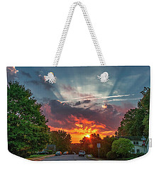 October Sunrise, Virginia Weekender Tote Bag