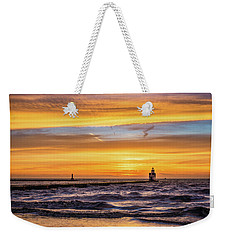 Weekender Tote Bag featuring the photograph October Surprise by Bill Pevlor