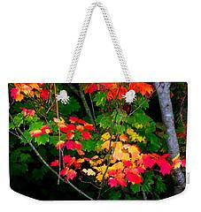 October Vine Maple Weekender Tote Bag