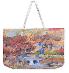 October Walk Weekender Tote Bag