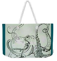 Octopodiformes Octopus Weekender Tote Bag by Scott D Van Osdol