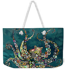 Octopus Colorful Weekender Tote Bag