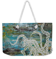 Octopus Of The Deep Weekender Tote Bag