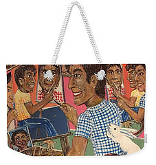 Octuple Self-portrait Weekender Tote Bag