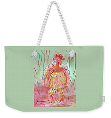 Odd Chicken Weekender Tote Bag