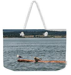 Odd Couple Weekender Tote Bag