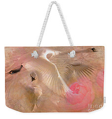 Ode To A Swan 2015 Weekender Tote Bag