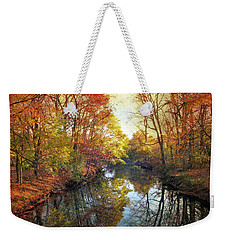 Weekender Tote Bag featuring the photograph Ode To Autumn by Jessica Jenney
