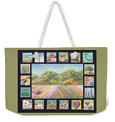 Ode To Lompoc Weekender Tote Bag by Terry Taylor