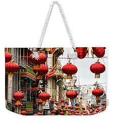 Red Lanterns Weekender Tote Bag