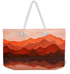 Ode To Silence Weekender Tote Bag