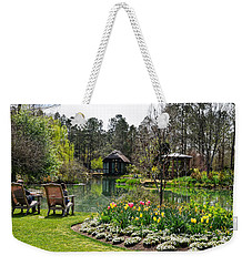 Weekender Tote Bag featuring the photograph Ode To Spring by Linda Brown