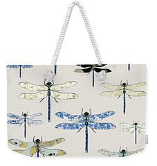 Odonata Weekender Tote Bag by Sarah Hough