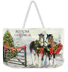 Of Christmas Past  Weekender Tote Bag