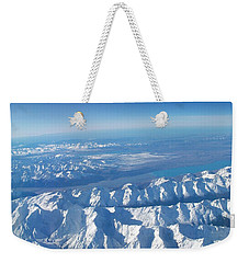 Of Peaks And Lakes Weekender Tote Bag