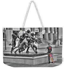 Off Field Distraction Weekender Tote Bag
