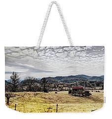 Weekender Tote Bag featuring the digital art Off The Beaten Path II by Rhonda Strickland