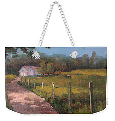 Off The Path In Whiting Bay Weekender Tote Bag