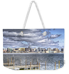 Off The Pier Weekender Tote Bag