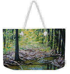 Off The Trail Weekender Tote Bag