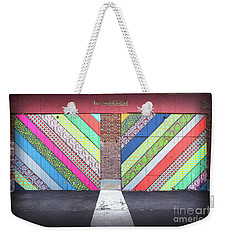 Weekender Tote Bag featuring the photograph Off The Wall - Double by Colleen Kammerer