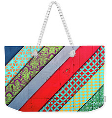 Off The Wall - Pattern 4 Weekender Tote Bag